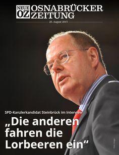 Was genau will die SPD? Kanzlerkandidat Peer Steinbrück wird im Wahlkampf-Endspurt noch einmal konkret. Das ist das Titelthema unserer aktuellen iPad-Ausgabe.  www.noz.de/digitalabo
