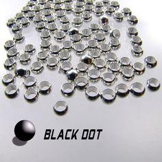 Quetschperlen 50 Stück 4mm Silber Plattiert Quetschkugeln Crimp Beads Kugeln