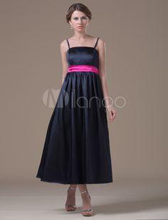 c2488469313  Milanoo.com Ltd  Maternity Bridesmaid Dresses  Black  A-line