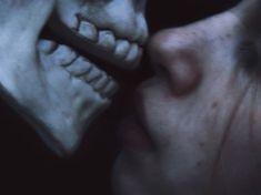 Cemeteries Ghosts Graveyards Spirits:  Kiss of #Death.