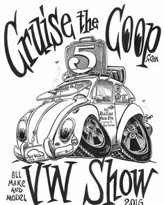 Cruise The Coop 5th Annual VW Car Show and Swap, March 12th, 2016