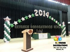 graduation stage decorations - Google Search