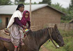 ethiopian horse market | child on a horse, Ethiopia (Eric Lafforgue) Tags: africa people horse ...