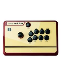 SHOP 8Bitdo FC30 Bluetooth USB Arcade Joystick Controller for £62.99 at techinthebasket.com  Features: - Wireless Arcade Joystick without wire trouble. Built-in smart CPU. Zero lag. - Added pair button and turbo button. Easy to use. - Retro design for happily remembering the old days better than the rest - Programmable keys to easily set up combo key and turbo key - Compatible with iOS, Android, Mac OS and Windows devices