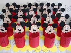 Enfeites de Mesa do Mickey - Circo e Infantil | Decorando Imóveis