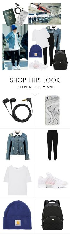 """""""Jungkook"""" by bangtansstyle ❤ liked on Polyvore featuring Passport, Sennheiser, Recover, Boohoo, No Ka'Oi, Splendid, adidas Originals, Carhartt and Nine West"""