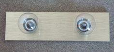 QUOIZEL VANITY LIGHT FIXTURE w/(2)60watt Bulbs*Golden Oak, Chrome,Antique Brass