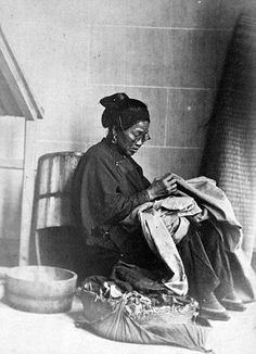 A Chinese woman photographed in the 1860's by John Thomson for the China Magazine