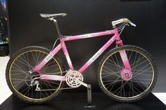 1994 Orbea Next One hardtail mountain bike with drum brakes and single-sided drivetrain stays