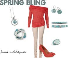 """lia sophia spring"" by andrea-nickels-barnett on Polyvore"