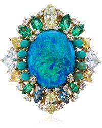 Anabela Chan   Opal Poseidon Gold Ring