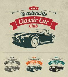 Stock vintage club car