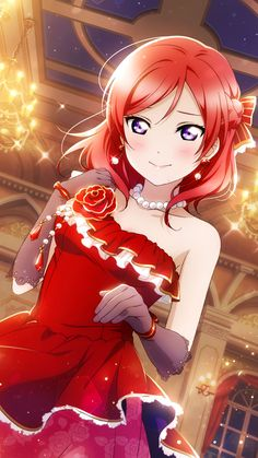 Pretty Anime Girl, Beautiful Anime Girl, Anime Art Girl, Anime Love, Loli Kawaii, Kawaii Girl, Best Anime On Netflix, Personajes Monster High, Maki Nishikino