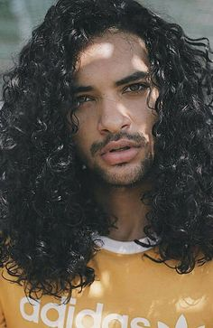 Get the look with these stylish men's haircuts. From the modern mullet to a curly mane and bleach blond, it's all about the unexpected. Jheri Curl, Stylish Mens Haircuts, Haircuts For Men, Men's Haircuts, Natural Hair Styles, Long Hair Styles, Curled Hairstyles, 80s Hairstyles, Trending Hairstyles