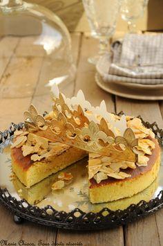 GaTEAU des rois, moins calorique que la traditionnelle galette et sa pâte feuilletée
