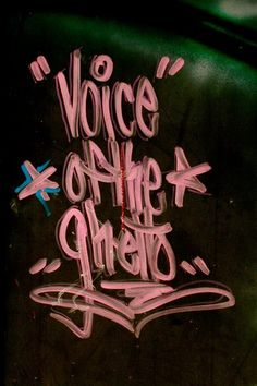 Voice of the Ghetto - Stay High 149 Stay High, Art Database, Street Art Graffiti, The Voice, Hip Hop, Art Pieces, My Arts, Neon Signs, Anonymous