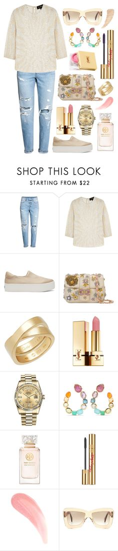 """Don't take it for granted"" by theodor44444 ❤ liked on Polyvore featuring Jenny Packham, Opening Ceremony, Monique Lhuillier, Cartier, Yves Saint Laurent, Rolex, Ippolita, Tory Burch and Roksanda"