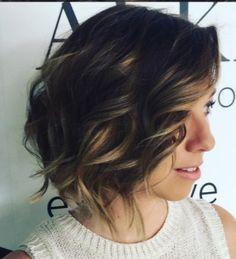 Short Wavy Hair - Wave Me Down