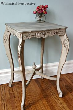 ASCP Paris Grey Table by Whimsical Perspective/Laura Bright