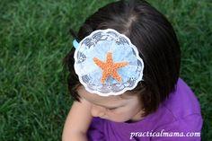 Headband for girls - DIY