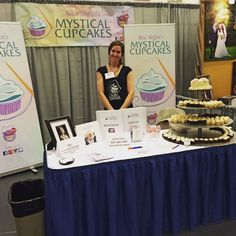 Miss Rachel of Miss Moffet's Mystical Cupcakes! They are here sampling out sweetness, come stop by the South Sound Wedding Show!  #sswedshow #southsoundweddingshow #weddings #missmoffetsmysticalcupcakes #mysticalcupcakes #cupcakes #food #yum #local #pnw #olywa #olympia #olympiawa #washington #marriage #engagement #love #mymixx96