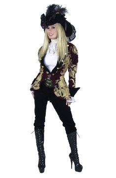 ladies pirate costume ideas | Elegant Pirate Lady