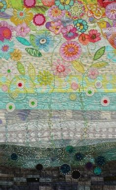 A garden of applique, quilting, and embroidery... <> (needlework, textiles, sew)  http://twelveby12.org/metamorphosis/kirsten.html