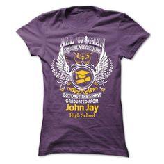 John Jay High School graduates !!!! - #tshirt blanket #cute hoodie. PURCHASE NOW => https://www.sunfrog.com/States/John-Jay-High-School-graduates--Ladies.html?68278
