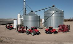 The most fuel efficient power in the industry, Case IH presents the Steiger Series of row crop farming tractors with Selective Catalytic Reduction (SCR) technology. Equipment Cases, Case Ih Tractors, Grain Storage, New Tractor, Agriculture Farming, Farm Life, The Row, Trucks, International Harvester