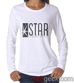 077044907947b STAR Laboratories Long sleeve T-shirt for Women - Meh. Geek - 1 Dc