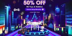 TomTop Black Friday 2017 Deals For RC Toys, Drones and Quadcopters has Already Started