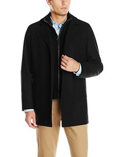 "34 1/2 inch wool cashmere button front car coat with knit bib and leather trims and is very comfortable to wear   	 		 			 				 					Famous Words of Inspiration...""An atheist is one who hopes the Lord will do nothing to disturb his disbelief.""					 				 				 					Franklin...  More details at https://jackets-lovers.bestselleroutlets.com/mens-jackets-coats/wool-blends-mens-jackets-coats/product-review-for-cole-haan-mens-classic-melton-topper-coat-with-faux-leather-de"