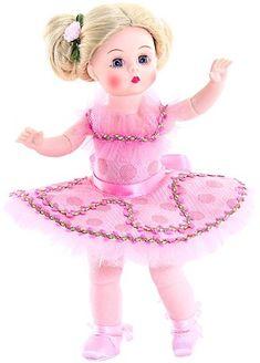 "Tiny Dancer Ballerina Item # 51740 8"" tall doll Dancing Dolls, Madame Alexander Dolls, Tiny Dancer, Hello Dolly, Collector Dolls, Ballet Dancers, Ballerina, Harajuku, Disney Princess"