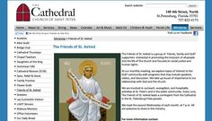 The Cathedral Church of St. Peter website runs on Kentico CMS.
