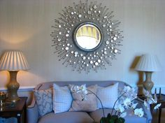 28 Unique and Stunning Wall Mirror Designs for Living Room http://www.architectureartdesigns.com/28-unique-and-stunning-wall-mirror-designs-for-living-room/ #mirror