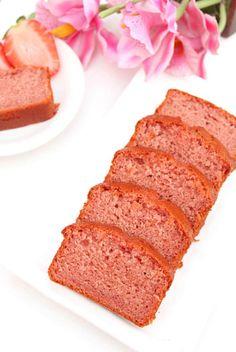 Eggless Strawberry Cake | Eggless Fresh Strawberry Cake - Delighted Baking Eggless Desserts, Eggless Baking, Easy Desserts, Delicious Desserts, Dessert Recipes, Eggless Recipes, Dessert Ideas, Yummy Food, Healthy Cake Recipes