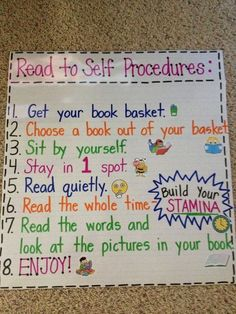 Teach Your Child to Read - Mrs. Terhunes First Grade Site!: Anchor Charts Give Your Child a Head Start, and...Pave the Way for a Bright, Successful Future...