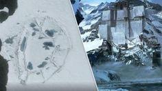 Evidência de civilização antiga na Antártica? Estrutura oval gigante é descoberta e levanta fortes suspeitas ~ Sempre Questione