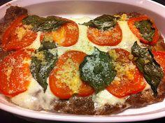Margarita Meatza Pizza Shared on https://www.facebook.com/LowCarbZen