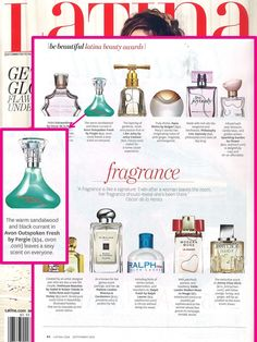 @latinamagazine featured our Outspoken Fresh by Fergie fragrance as a 2015 Beauty Awards Winner!