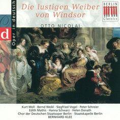 NICOLAI, O.: Lustigen Weiber von Windsor (Die) [Opera] (Highlights) (Klee)-Bernhard Klee-Berlin Classics