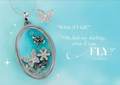 Origami Owl Looking Glass Locket This locket magnifies the charms inside! Available 8/9/16