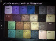 Inglot eyeshadows palette!!!!