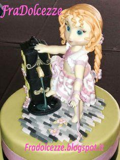 TORTA BIMBA DELLA FONTANA Torte decorate in pasta di zucchero Cake Design Festival Princess Zelda, Festival, Blog, Fictional Characters, Design, Fantasy Characters