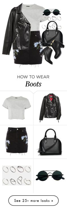 """Sin título #13379"" by vany-alvarado on Polyvore featuring Topshop, H&M, ASOS and Louis Vuitton"
