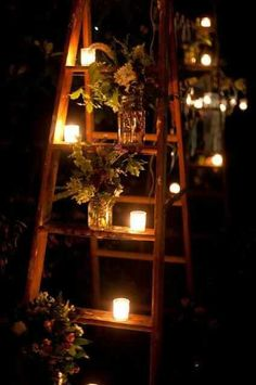 Candle Flower Stairway...
