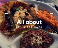 San Diego-Lucha Libre Taco Shop, a list of some SAN Diego food and restaurants