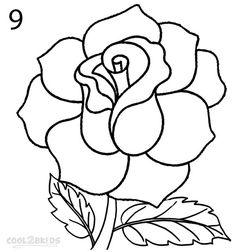 How To Draw a Realistic Rose Step 9