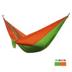 Portable 2-People Parachute Hammock Camping, Leisure 24 Colors