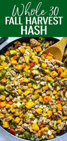 This Thanksgiving Paleo Gluten Free Stuffing is a delicious healthy alternative to most traditional dressings and stuffings - it's made with a ton of veggies and it's still packed with fall flavours thanks to the sage and rosemary! Source by fall Good Healthy Recipes, Healthy Meal Prep, Whole Food Recipes, Healthy Options, Eating Healthy, Healthy Eats, Delicious Recipes, Bariatric Recipes, Whole30 Recipes